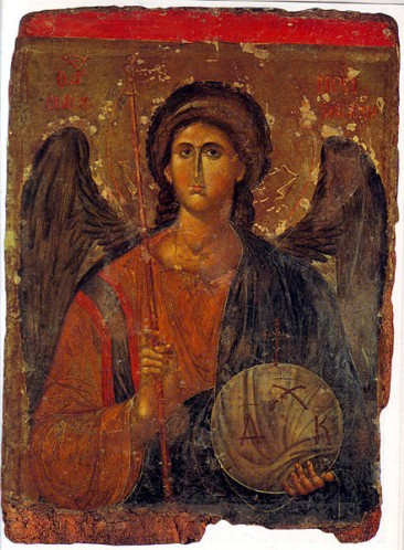 Archangel Michael 14th century - Athens