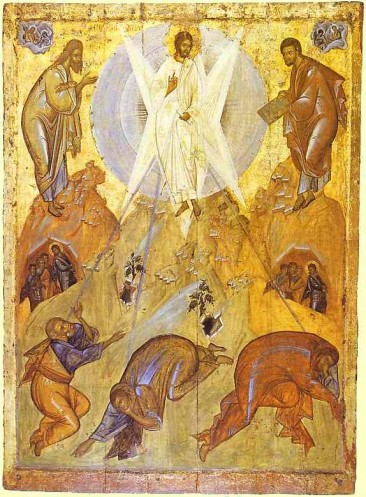 Transfiguration 15th century - Theophanes the Greek