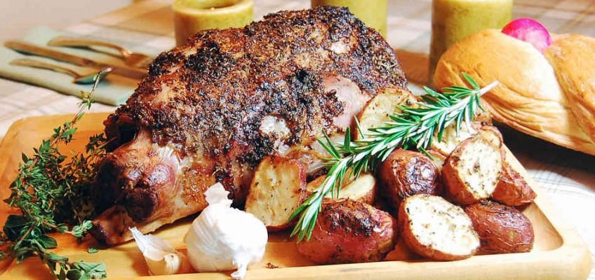 Traditional Pascha Lamb Dinner